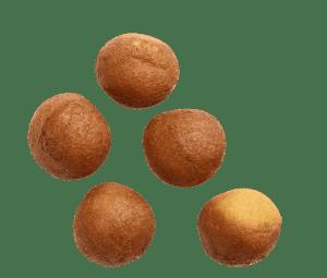 Plain cake donut holes